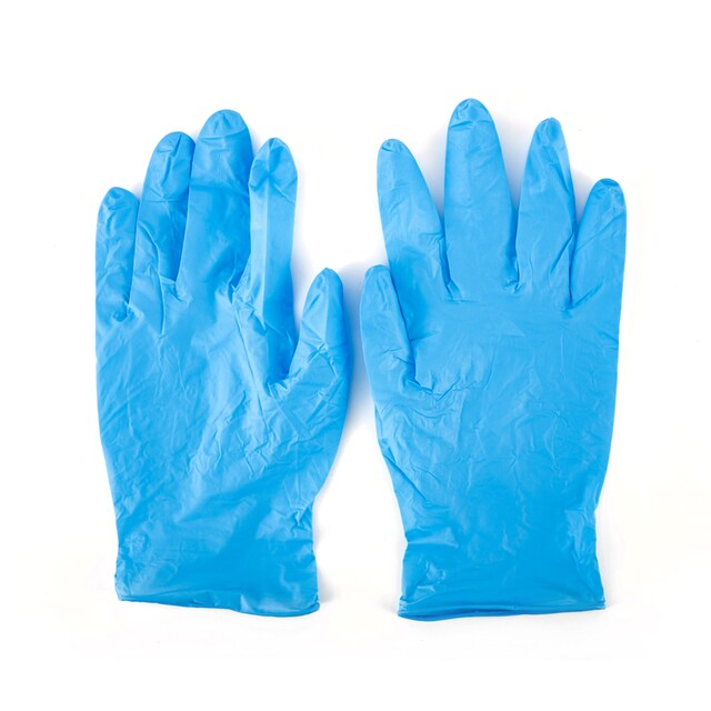 Nitrile Disposable Glove Powder-Free (100/Box) Poly-Brite 943D3