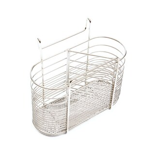 Round-shaped stainless steel spoon rack with 3 compartments TYM Work WS108