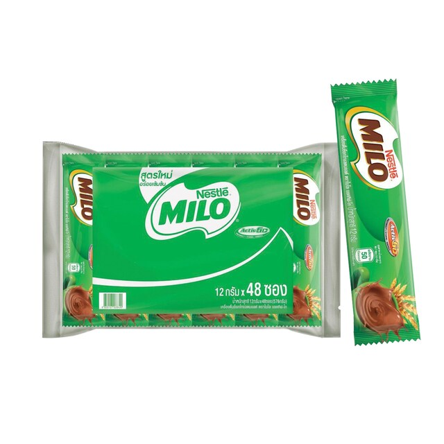 Milo Chocolate Stick Pack (48/Pack) ไมโล