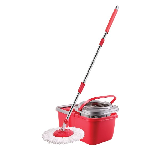 Poly-Brite 5821-4 Spin Mop Busket Set (Hurricanes)