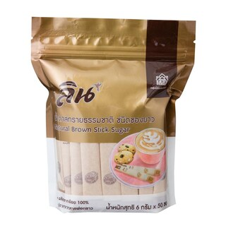 Stick Sugar 6 g. (50/Pack) ลิน