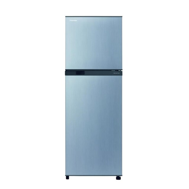 Toshiba GR-A25KS S 6.8 cubic meter Twin doors Refrigerator Silver