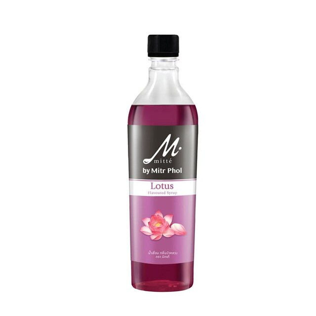Lotus Flavoured Syrup 750ml. มิตเต้