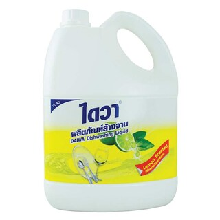 Dishwashing Liquid 3800ml. Yellow ไดวา