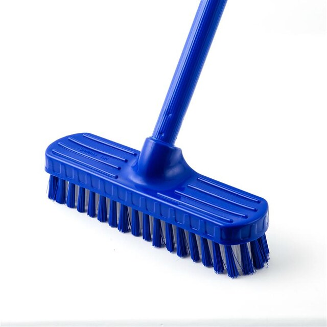 NCL FB-002 Long Handle Blue Plastic Brush
