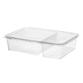 2pcs. Container With Lid (25/Pack)