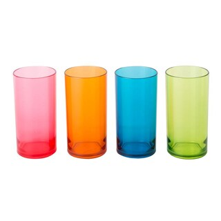 Tumbler Gift Set Asst. Colors (4/Pack) Basket 9660