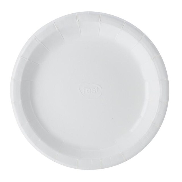 FEST PP011 7 Inches Paper Dish Without Pattern 50/pack