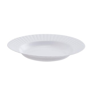9 Inches White Dish (25/Pack) Standard RW0424