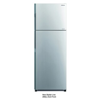10.5-Cubic Foot Refrigerator Silver Hitachi R-H300PD (BSL)