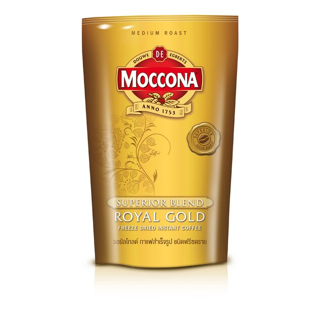 Instant Coffee (Sacherts120 g.) Moccona Royal Gold