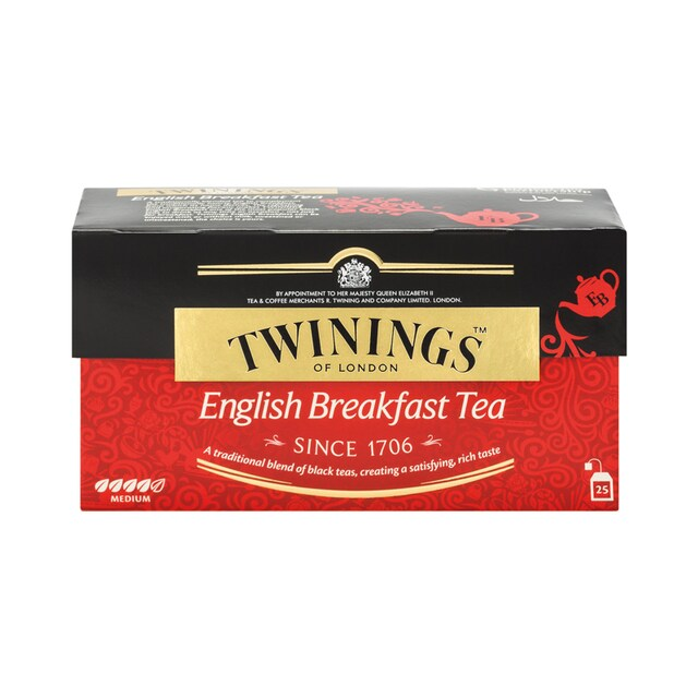 English Tea 2 g. (25/Box) Twinings English Breakfast