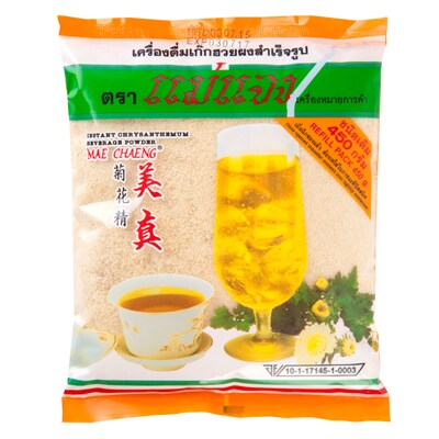 Instant Chrysanthemum Beverage Mix (Refill 450g.) แม่แจง