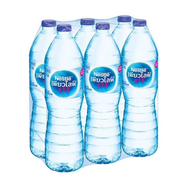 Nestle Pure Life Drinking Water 1.5 Liter 6 Bottles/Pack
