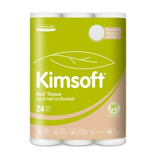 Roll Tissue (24/pack) Kimsoft Economy