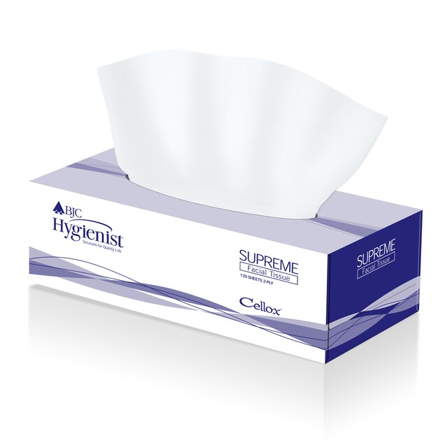 Facial Tissue (170/Box) BJC Hygienist Supreme