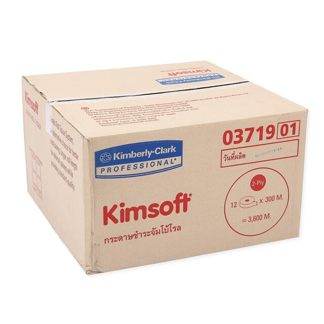 Jumbo Roll JRT Toilet Paper (12Roll/Box) คิมซอฟ