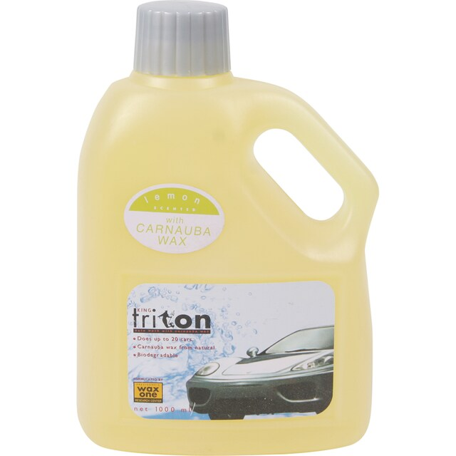 KingsTriton Car Wash Shampoo Lemon 1,000 ml. Wax One