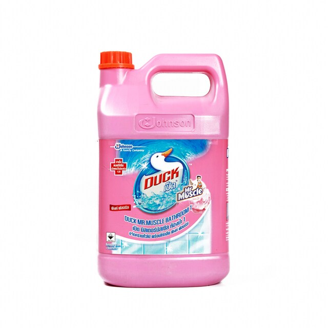 Bathroom Cleaner 3500 ml. Pink Smooth เป็ด