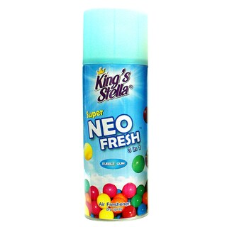 Kings Stella Super Neo Fresh Air Refresher Bubble Gum 300cc.