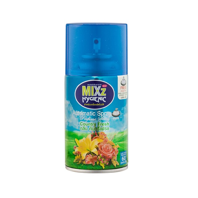 Mixz Hygienic Air Fresh Refill Country Fresh 300cc.