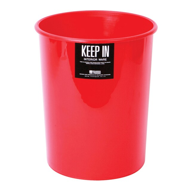 Trash Bin 5 Liters Red Standard RW 9072