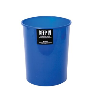 Trash Bin 8 Liters Blue Standard RW 9073