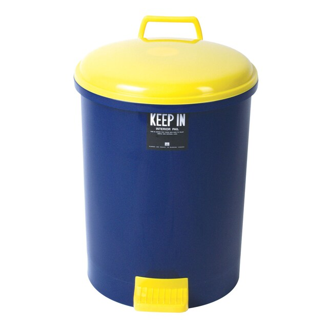 Step Trash Bin (18 Liters) Blue Standard RW9085