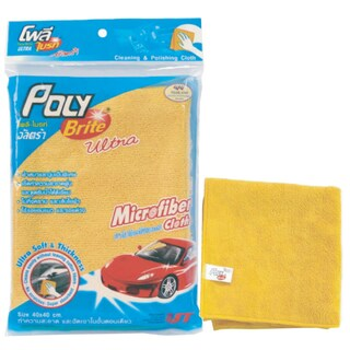Microfiber Cloth-Car Poly-Brite 661-01