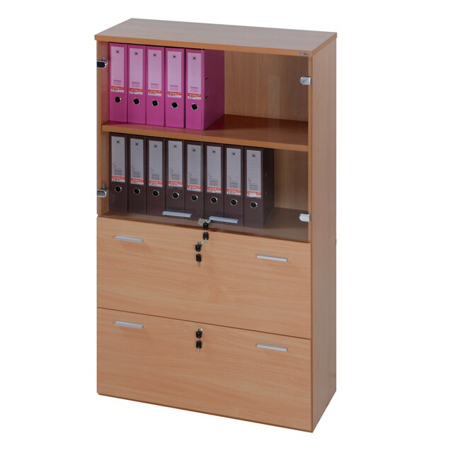 Furradec SC1690G Document Cabinet Beech