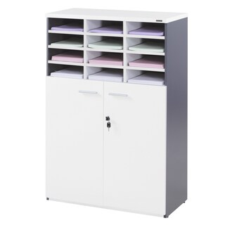 Furradec SF812 Document Cabinet Grey-Graphite