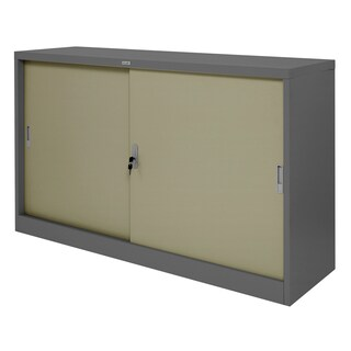 Sliding Door Cabinet Grey Zingular ZDO-315