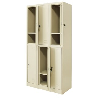 Zingular ZLK-6106 Locker Cabinet Cream