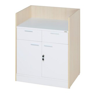 Kitchen Cabinet White+Maple Furradec TP02