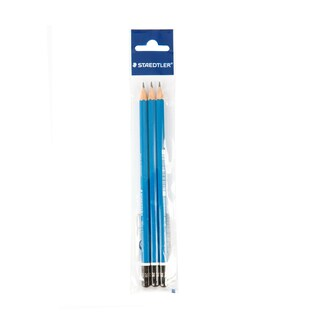 Drawing Pencil 2B (3/Pack) Staedtler Lumograph