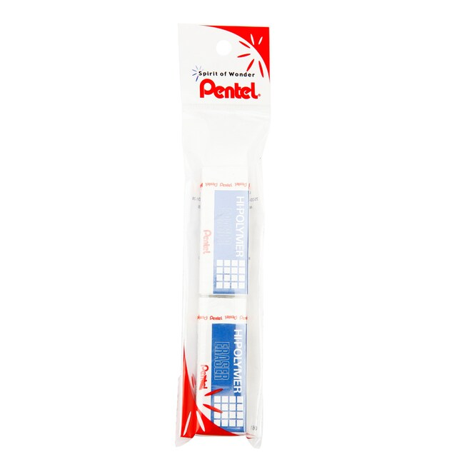 Eraser Pencil (Pack/2) Pentel ZEH10
