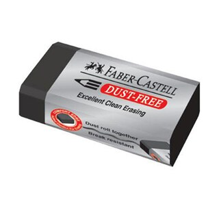 Eraser Pencil Black Faber-Castell DUST FREE