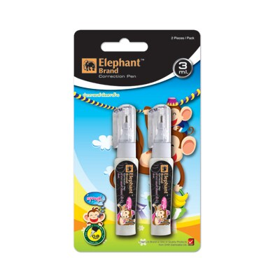 Correction Pen 3ml.  Free1 (On Pack) Spark ตราช้าง