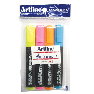 Highilighter (3free1) Artline EK-660