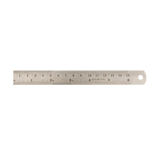 Baipo Stainless Steel Ruler 6""