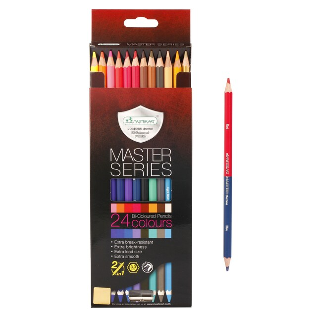 Premium Grade Colored Pencils 24 Colors Master Art Series