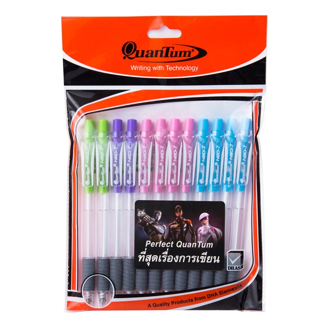 Ball Point Pen Skate 0.7mm. (12/Pack) Blue Quantum Neo7