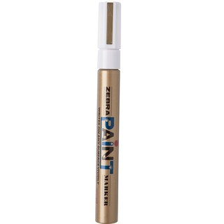 Paint Marker 2.0 mm. Gold Zebra MOP-200