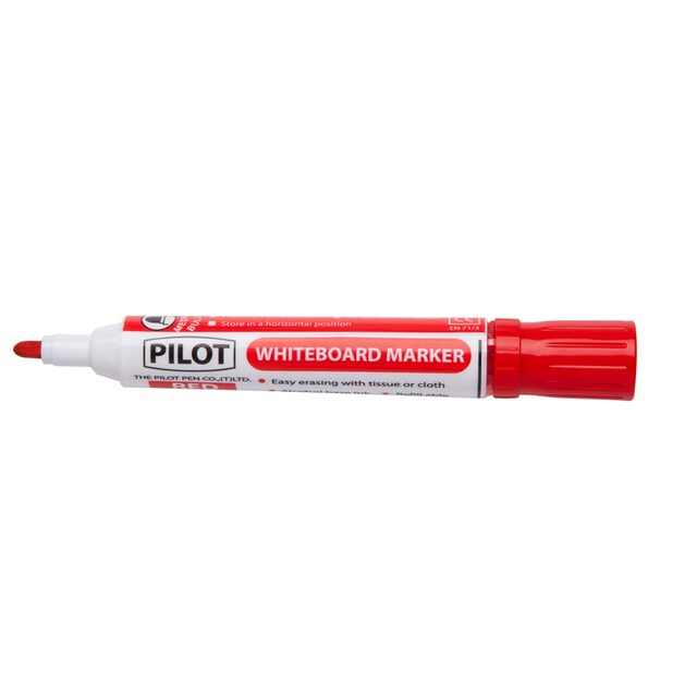 Whiteboard Marker 2.0 mm. (3/Pack) Red Pilot WBMA-M