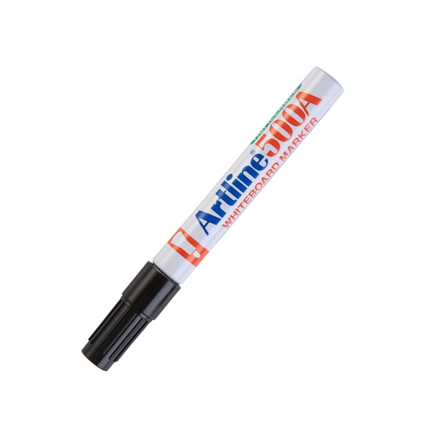 Whiteboard Marker Black (12/Pack) Artline EK-500A