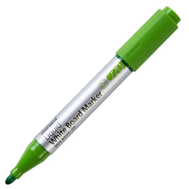 Whiteboard Marker PI-220 2.0 mm. Light Green Monami 15784A