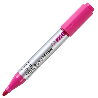 Whiteboard Marker PI-220 2 mm. Pink Monami 15387A