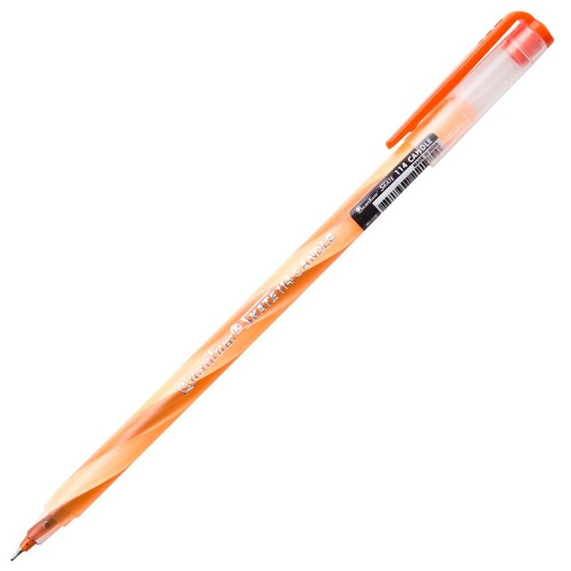 Ball Pen 0.5 mm. Blue (12/Pack) Quantum Skate 114 Candle
