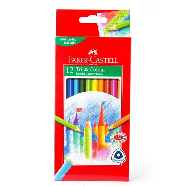 Colours Pencil (12/Box) Faber-Castell 115853