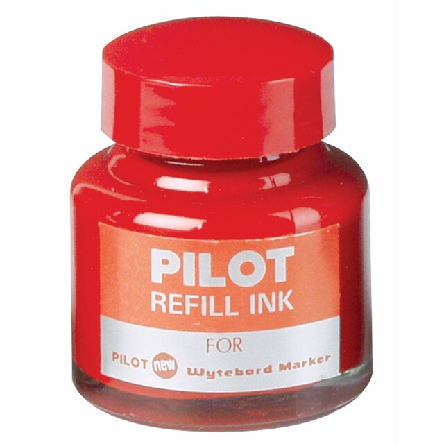Whiteboard Marker Ink 30 cc. Red ไพล็อต